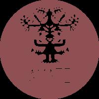 Amate Círculo Logo Cochinilla